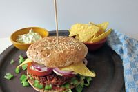 Vegetarischer Burger: Kidneyburger